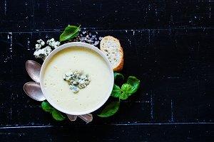 Tasty cream soup