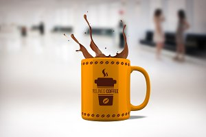 Coffee Mug Mock-up#21