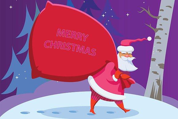 Santa Claus. Merry Christmas!