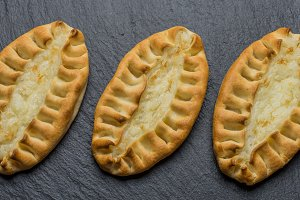 Traditional karelian pasties