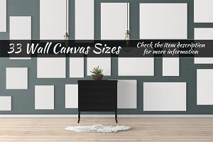 Canvas Mockups Vol 97
