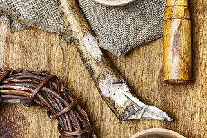 Healing root of elecampane