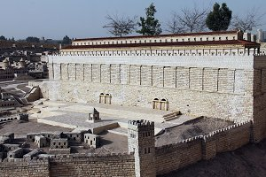 Second Temple. Hulda Gate