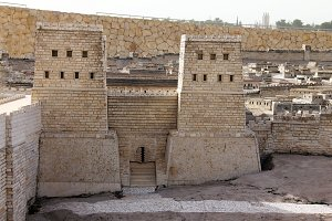 Second Temple. Anthony's castle