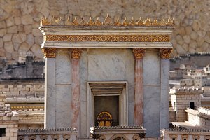 Second temple in ancient Jerusalem