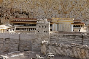Anthony's castle. Second Temple