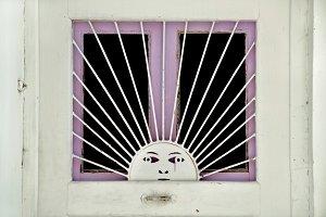Metal Sun Pattern