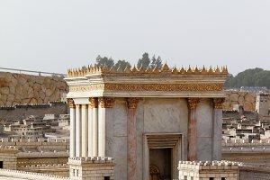 Second Temple Detail.