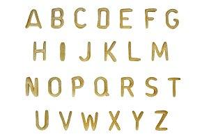 Pasta Alphabet Font