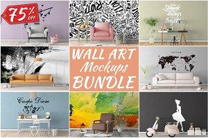 Wall Art Mockups BUNDLE V2