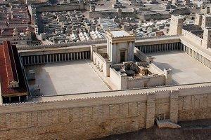 Second Temple. Ancient Jerusalem