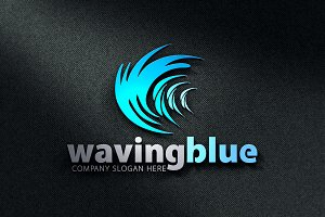 Waving Blue Logo