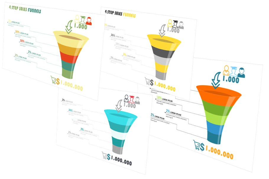 Sales Funnels PowerPoint Template