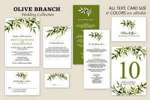 Olive Branch Wedding Collection