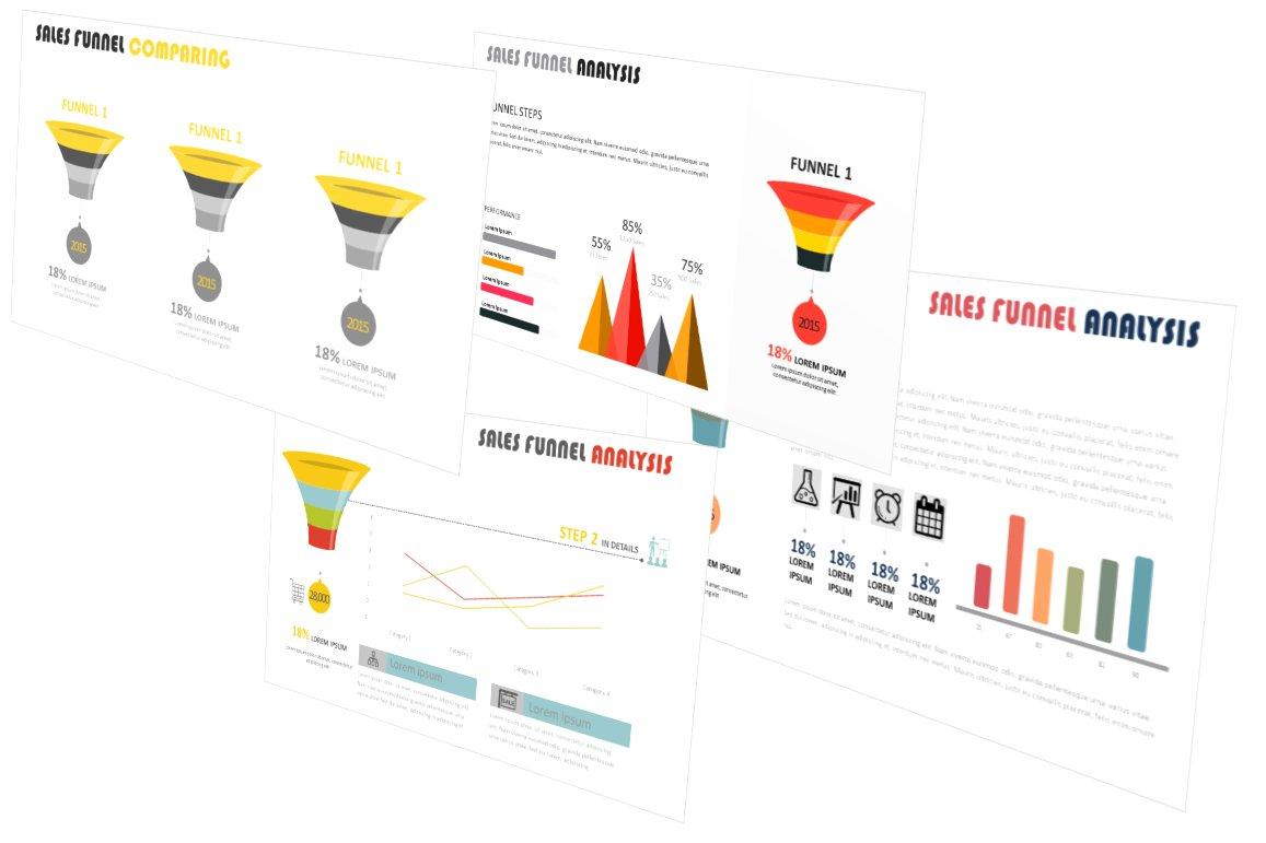 Sales funnel analysis powerpoint presentation templates sales funnel analysis powerpoint presentation templates creative market alramifo Choice Image