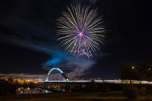 Fireworks in Mérida