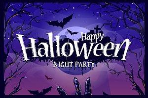 Halloween Poster Design #1