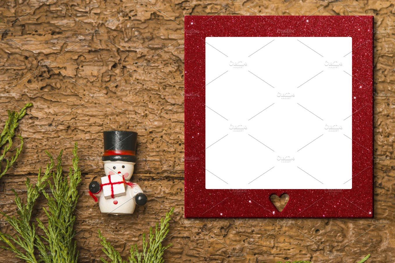 Christmas photo frame cards ~ Holiday Photos ~ Creative Market