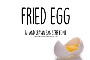 Fried Egg Font