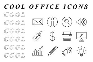 COOL OFFICE ICONS
