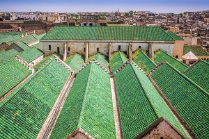 Green roofs in Fez