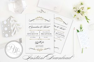 Art Deco Invitation-Anneliese