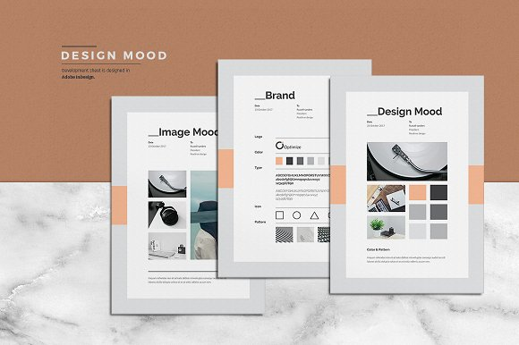 concept design mood board templates templates creative market