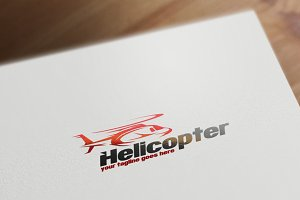 Helicopter Logo Template