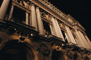 The Opera Garnier House in Paris