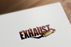 Exhaust Logo Template