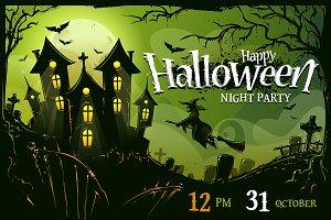 Halloween Poster Design #2