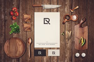 Restaurant Branding Mock-up#2