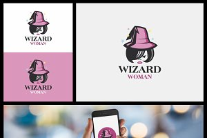 Wizard Woman Logo
