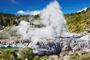 Pohutu Geyser, New Zealand
