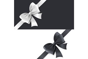 Luxury Bows and Ribbons Card