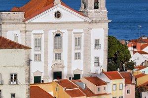 Santo Estevao Church in Lisbon
