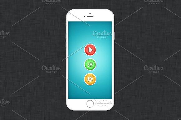 Game Design UI Kit Graphic Patterns Creative Market - Game ui design
