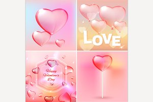 Valentine's Elements Set