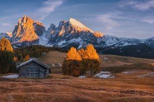Evening Alpe di Siusi TIF