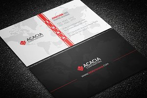 Map Business Card