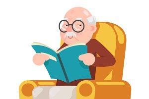 Reading Old Man