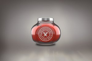 Spice Jar Mock-up#1