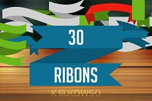 Ribbons Vector Banners