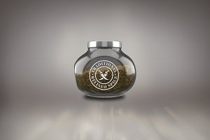 Spice Jar Mock-up#2