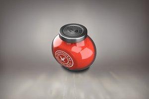 Spice Jar Mock-up#3