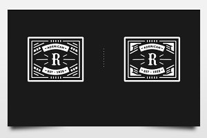 Badge/Logo Frames Vol 2