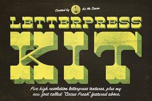 Letterpress Kit 1