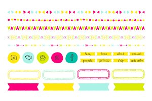 Spring Splash Blog Design Kit