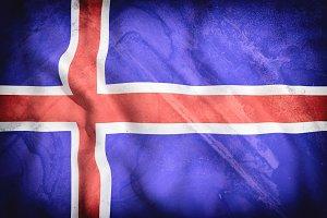 Old Iceland flag