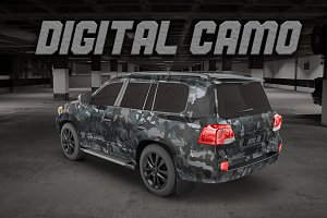 Digital ACU Camo | Vector